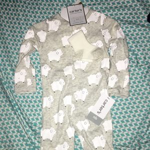 Carters Sheep Outfit with Socks